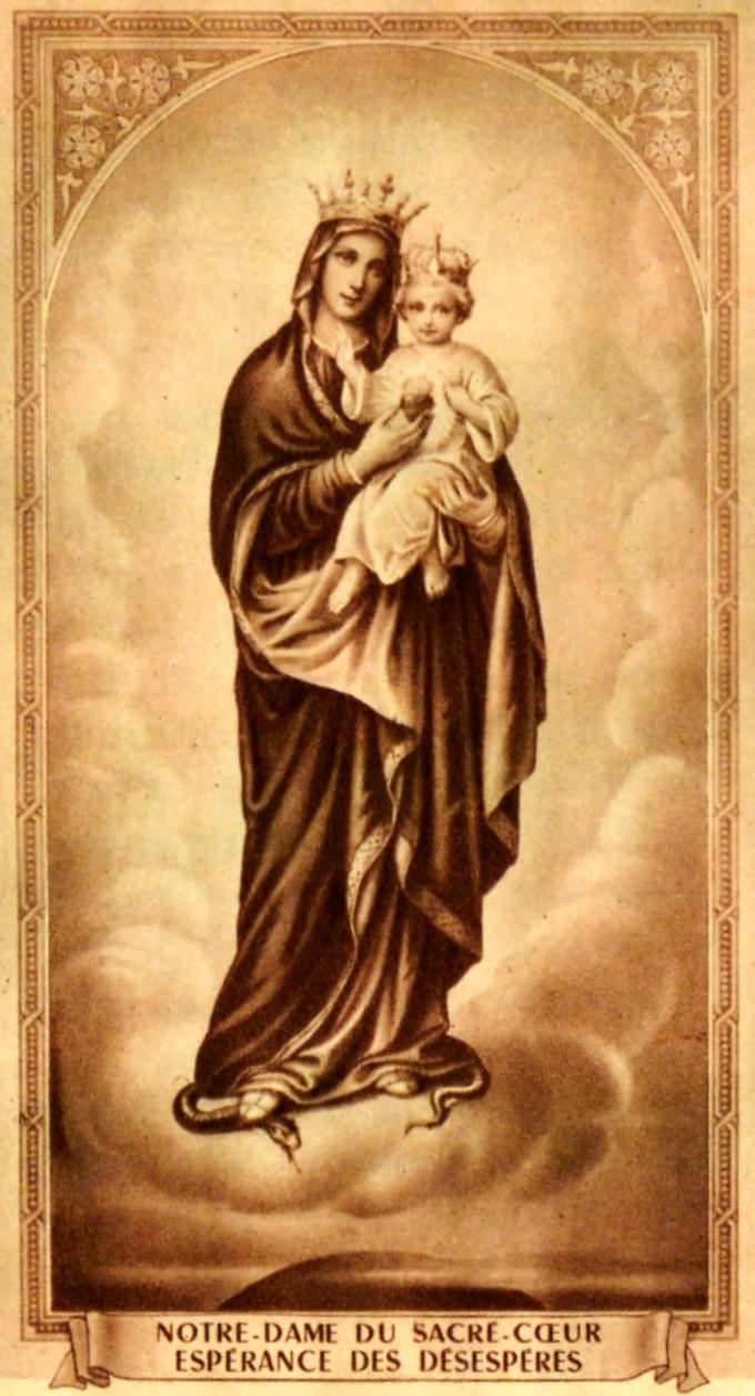 Notre dame du sacre coeur